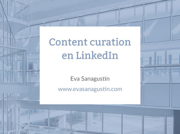 Content Curation en LinkedIn